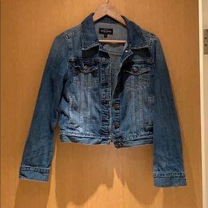 J Crew Medium Wash Denim Jacket